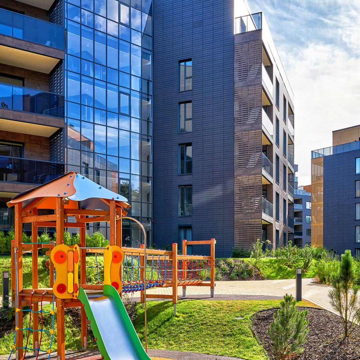Affordable class apartments